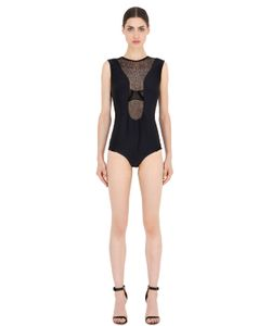 Emiliano Rinaldi | Lace Neoprene Bodysuit