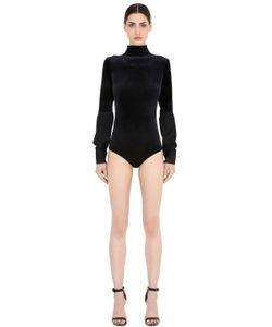 Emiliano Rinaldi | Viscose Velvet Bodysuit