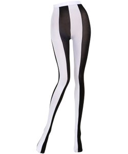 Emilio Cavallini | Two Tone Striped Microfiber Tights