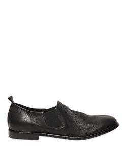 ERNESTO DOLANI | Washed Leather Slip-On Loafer