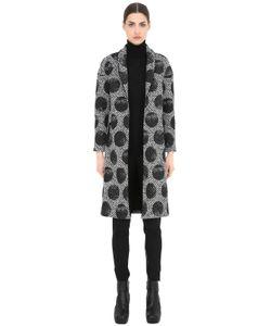 Es'Givien | Printed Polka Dot Kimono Coat