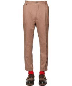 Etro | Stretch Heavy Cotton Flannel Pants
