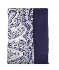 Etro   Klondike Paisley Print Cotton Bedspread