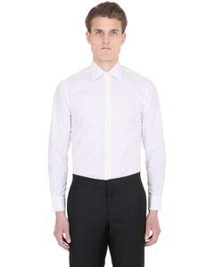 ETTORE BUGATTI COLLECTION   Micro Pattern Cotton Shirt