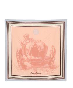 ETTORE BUGATTI COLLECTION   Meo Costantini Printed Silk Twill Scarf