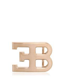 ETTORE BUGATTI COLLECTION   Logo Rose Colored Buckle