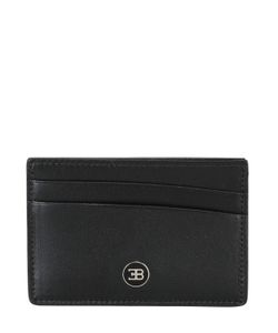 ETTORE BUGATTI COLLECTION | Leather Card Holder With Logo Detail