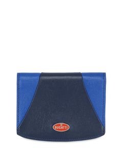 ETTORE BUGATTI COLLECTION | Two Tone Leather Wallet