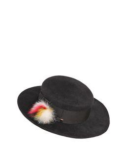 Eugenia Kim | Brigitte Rabbit Felt Hat W/ Fur Pompom