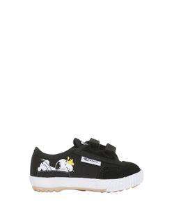 Feiyue | Peanuts Suede Cotton Canvas Sneakers