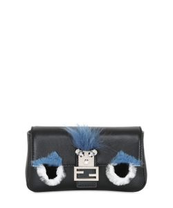 Fendi | Micro Baguette Monster Leather Bag