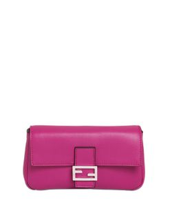 Fendi | Micro Baguette Nappa Leather Bag