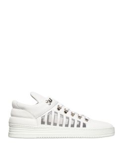 Filling Pieces | Cut Out Smooth Leather Sneakers