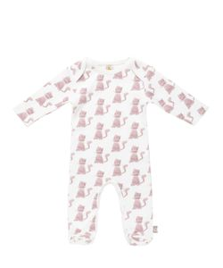 FILOBIO | Printed Organic Cotton Interlock Romper