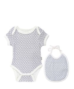 FILOBIO | Cotton Interlock Body Bib Set