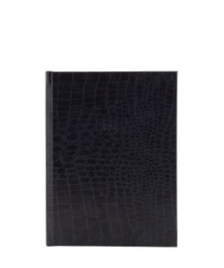 FINE&CANDY | Charcoal Embossed Faux Leather Notebook