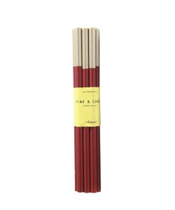 FINE&CANDY | 12 Lacquered Wood Blood Pencils