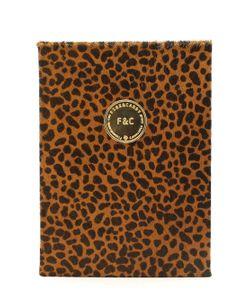 FINE&CANDY | Lynx Printed Ponyskin Notebook