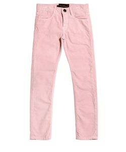FINGER IN THE NOSE | Skinny Fit Stretch Cotton Corduroy Jeans