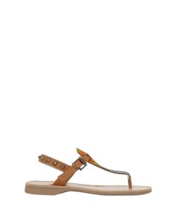 Florens | Embellished Studded Leather Sandals