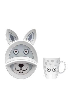FLOWERSSORI | Rabbit Fine Porcelain Mealtime Set