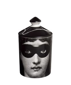 FORNASETTI | Burlesque Otto Scented Candle With Lid