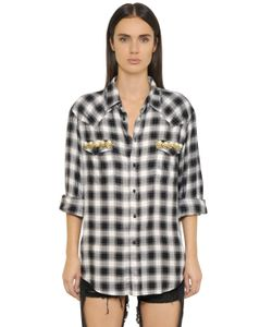 FORTE COUTURE | Thelma Check Lace Shirt