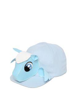FRANCESCO BALLESTRAZZI   Pegasus Cotton Baseball Hat