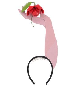 FRANCESCO BALLESTRAZZI | Rose On Hand Headband