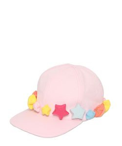 FRANCESCO BALLESTRAZZI | Stars Cotton Baseball Hat