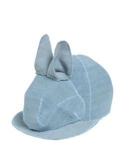 FRANCESCO BALLESTRAZZI | Bunny Cotton Baseball Hat