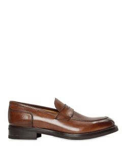 FRANCESCO BENIGNO | Hand-Painted Leather Penny Loafers