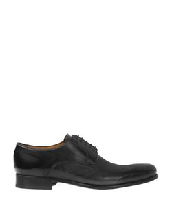 FRANCESCO BENIGNO | Leather Derby Lace-Up Shoes