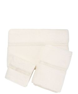 Frette | Macramé Pizzo Set Of 5 Cotton Towels