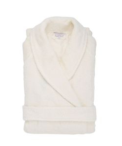 Frette | Macramé Pizzo Cotton Terrycloth Bathrobe
