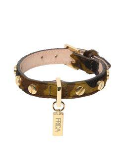 FRIDA FIRENZE | Small Dog Ponyskin Collar Leash