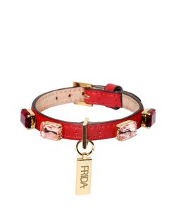 FRIDA FIRENZE | Toy Dog Embellished Collar Leash