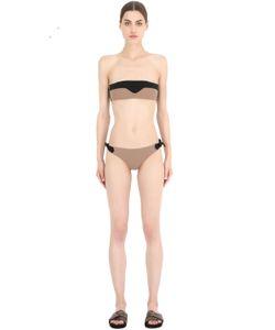 FRIDA QUERIDA | Julieta Reversible Lycra Bandeau Bikini