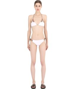 FRIDA QUERIDA | Talia Reversible Lycra Triangle Bikini