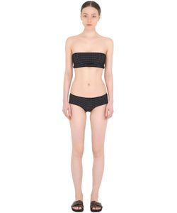 FRIDA QUERIDA | Reversible Perforated Lycra Bikini