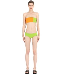 FRIDA QUERIDA | Virginia Reversible Lycra Bikini