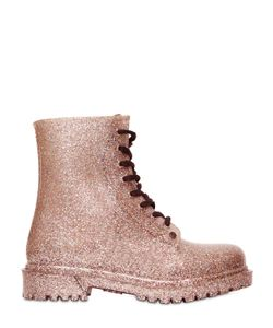 G•SIX WORKSHOP | Ginny Glitter Lace-Up Boots