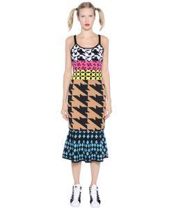 GABRIELAB | Geometric Cotton Jacquard Dress