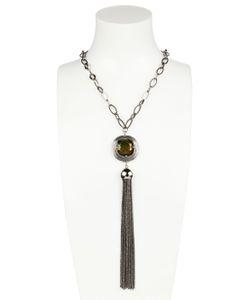 GABRIELE FRANTZEN | Stone Tassel Necklace