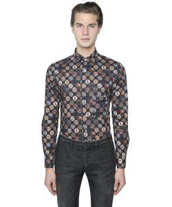 GABRIELE PASINI | Mystic Printed Cotton Poplin Shirt