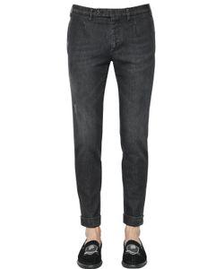 GABRIELE PASINI | 18cm Washed Stretch Cotton Denim Pants