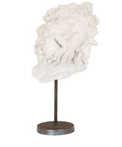 GALLERIA ROMANELLI | Fragment Of Laocoon Mask On Base