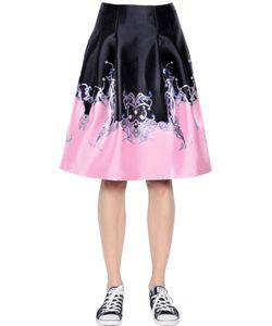 Gaowei+Xinzhan | Printed Duchesse Satin Skirt