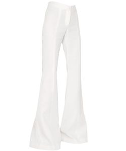 Gareth Pugh | Cady Silk High Waisted Palazzo Trousers