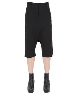 Gattacicova | Cropped Viscose Blend Jersey Pants